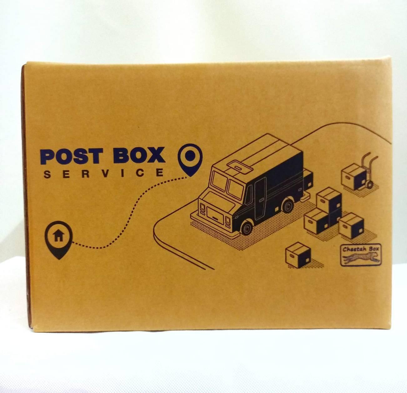 กล่องลูกฟูก 5 ชั้น G-5 (Cheetah Box ขนาด 31*36*26 CM)